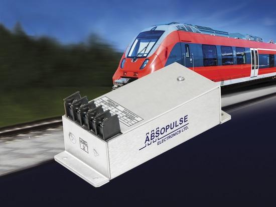 RWY 35-P30 encapsulated railway DC-DC converter