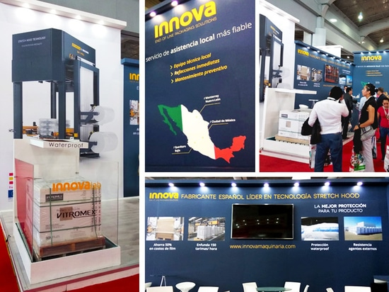 Innova Booth at ExpoPack Mexico