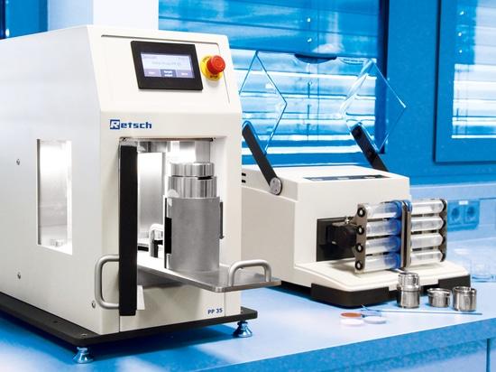 Pelelt Press PP 35 & Mixer Mill MM 400