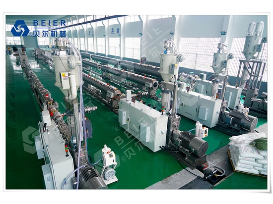 Jiangsu Beier Machinery High efficiency, energy saving extrusion line (large diameter)