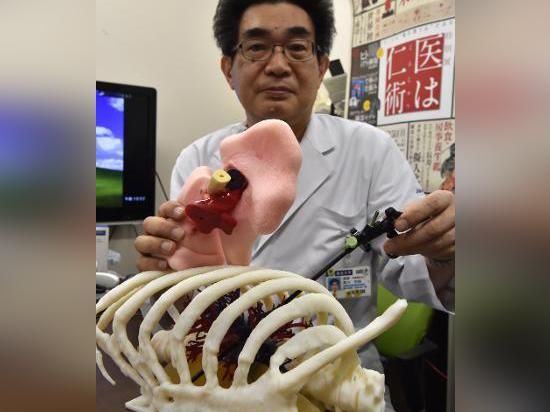 Ultra-realistic 3D printed organs let Japanese doctors practice real surgery now