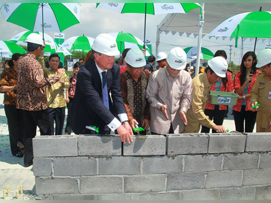 Cargill is the sponsor of the new cocoa processing facility in Indonesia.