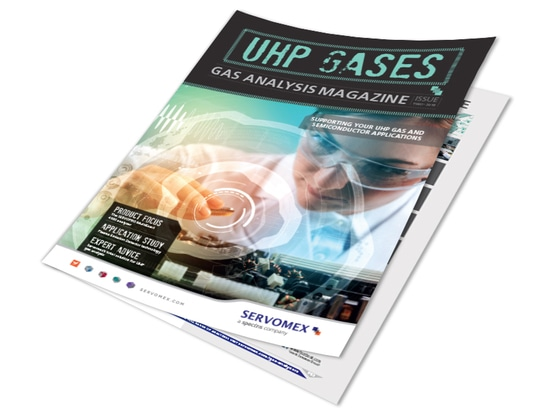 THE NEW INTERACTIVE VERSION OF UHP GASES MAGAZINE IS AVAILABLE NOW.