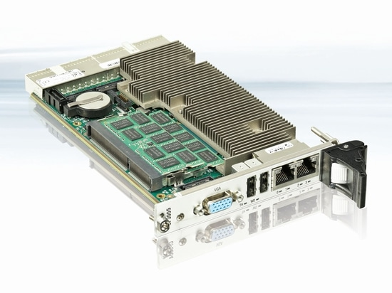 The new 3U CP3005-SA CPU board is Kontron's latest edition to its CompactPCI family