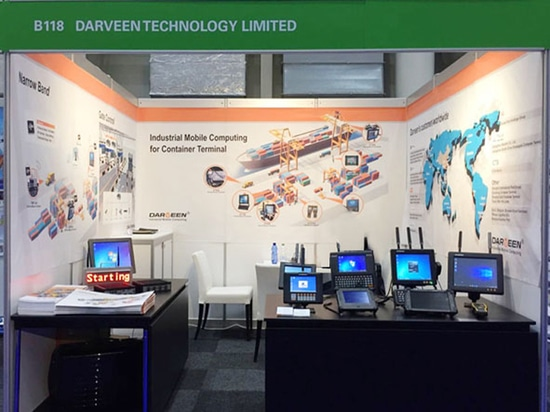 Darveen Attended Exhibition in Germany 2016