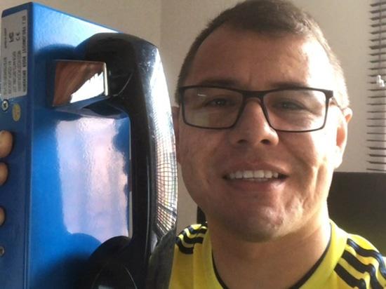 Prison emergency telephone system In Peru