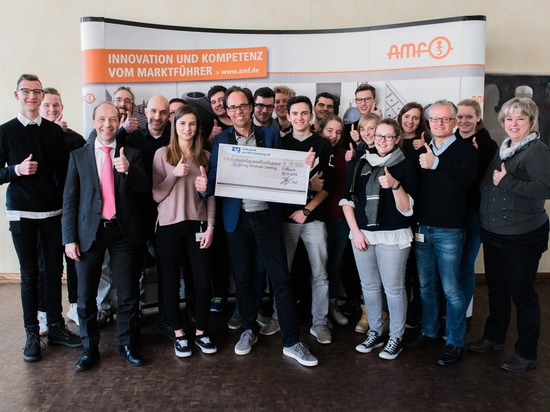This year's AMF trainees' donation goes to Stiphtung Christoph Sonntag