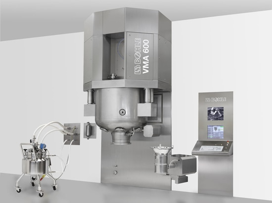 VMA - Single pot granulator for pharmaceutical applications