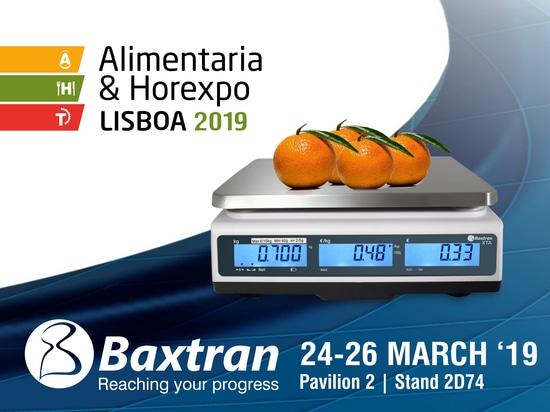 Baxtran at the HOREXPO in Lisbon