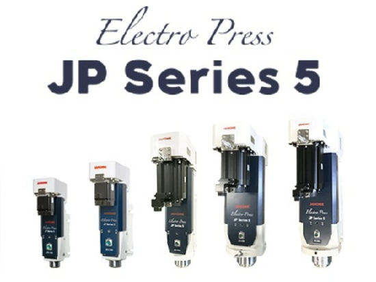 The JP Series 5 is available in nine different pressing capacities from 0.5kN to 80kN.
