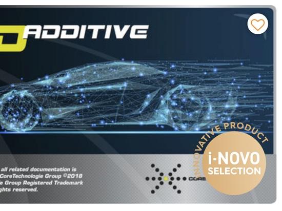 CoreTechnologie awarded an i-NOVO for 4D_Additive