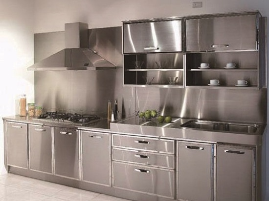 "A ""KING"" kitchen Created by Fiber laser cutting machine"