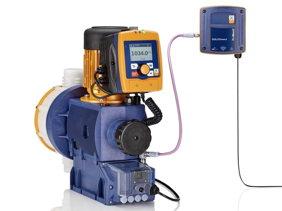 The motor-driven metering pump Sigma X Control with new operating unit and DULCOnnect®