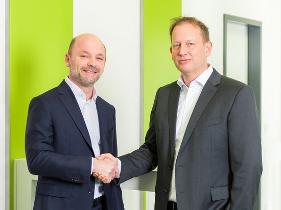 Marc Setzen (on the right) is CEO successor of Xaver Auer who will leave Sesotec at his own request.