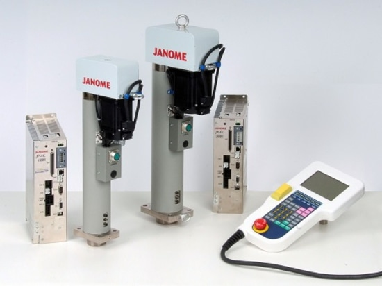 Janome JP-S Series slim and compact inline servo press