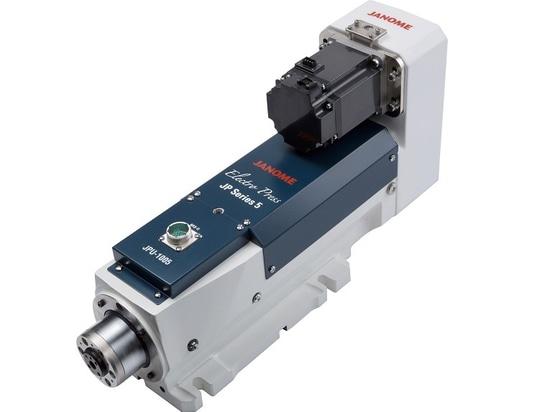 Janome's flagship model JP Series 5 servo press