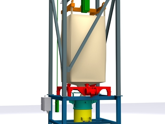 AZO Big-Bag discharge station – modular, flexible und cost-efficient