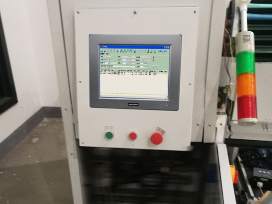 Darveen Industrial Panel PC Used in Smart Textile Control and Visual Processing System of Zhejiang Kangli
