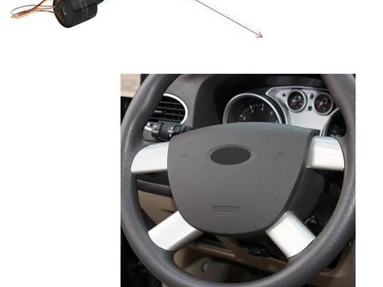 Steering steel slip ring