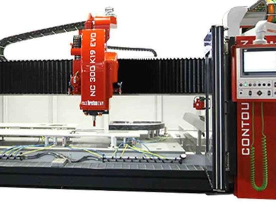 Contourbreton NC300 EVO 4-axes CNC contouring machine