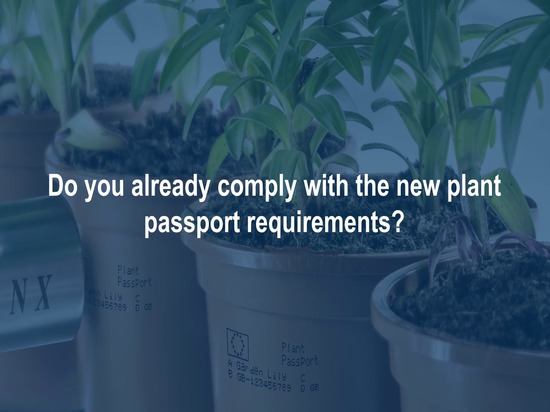 Plants and Horticulture Plant Passports