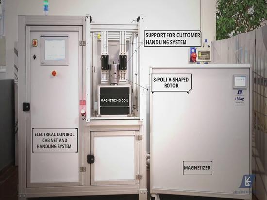 Automated Magnetizing Workstation