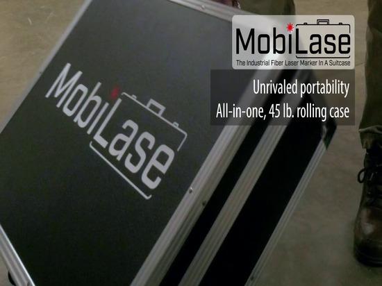 MobiLase Portable Fiber Laser Marking Unit