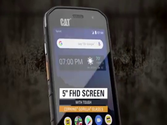 Cat's new S48C smartphone looks like a good deal, is first to launch with a U.S. carrier