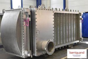 溶接プレート式熱交換器