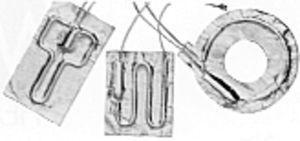 フレキシブルヒーター要素
