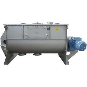 リボン混合器 / バッチ式 / 液体 / 固体 / 粉末