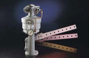 リニアアクチュエータ / 空気圧式 / 複動 / スチール製