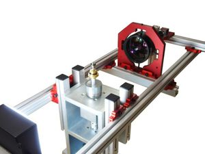 光学マイクロメーター