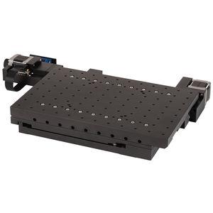 XYポジショニングステージ / モーター式 / 2軸 / はめ込み式ステッピング モーター付
