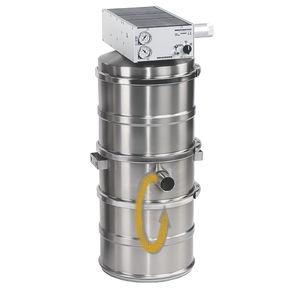 食品産業用吸引式空気圧輸送機