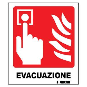 火事警告パネル