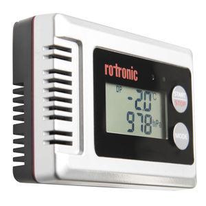 温度と湿度データロガー