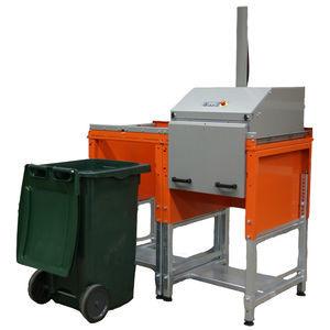 廃棄物用コンテナ圧縮機