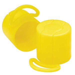 丸形キャップ / 低密度ポリエチレン LDPE製 / 絞りき端子