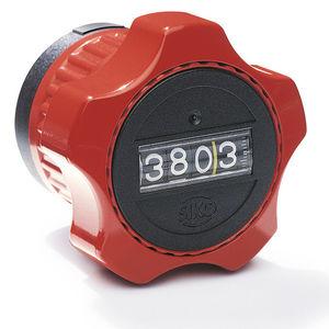 位置インジケーター付き機械コントロール ノブ