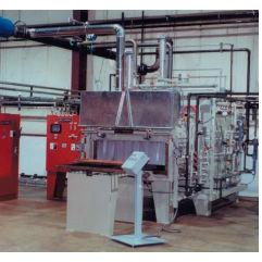 ろう付け炉 / チャンバー / 電動 / 窒素加工