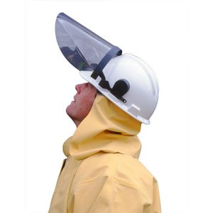 作業用首巻き / 化学防護 / ブチル / PVC