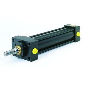 油圧シリンダ / タイロッド / 小型 / タイロッド