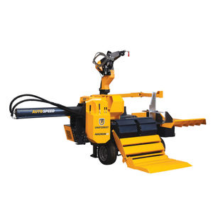 横型薪割り機