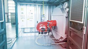 ガソリン加熱ユニット