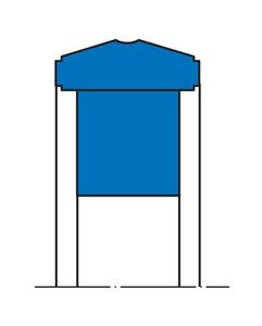 長方形シール材