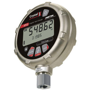 LCD ディスプレイ付き圧力計