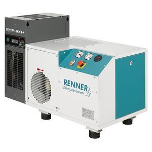 冷凍乾燥機付きコンプレッサー