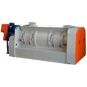パドル混合器 / プラウシェア / バッチ式 / 液体用