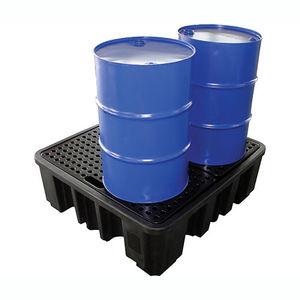 ドラム缶4本用貯蔵パレット